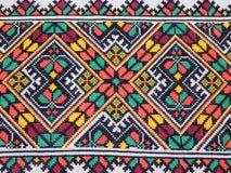Фольклорная вышивка - одна из самых старых форм прикладного искусства стоковое фото rf