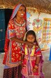 фольклорная жизнь Индии Стоковая Фотография RF