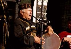 фольклорная georgian группа Стоковая Фотография RF