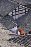 фольклорное langzhong дома Стоковое Изображение