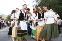 Фольклорные группы Стоковое фото RF