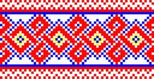 фольклорный орнамент Стоковая Фотография