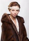 фольклорный русский девушки Стоковые Изображения RF