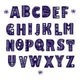 Фольклорный скандинавский алфавит бесплатная иллюстрация