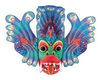 фольклорный театр маски Стоковые Фотографии RF