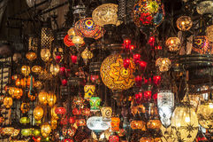 Фонарики базара стоковые фото