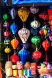 Фонарики в Hoi, Вьетнаме Стоковое Фото