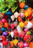 Фонарики в Hoi, Вьетнаме Стоковое Изображение
