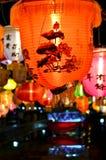 Фонарики китайского Нового Года Стоковая Фотография