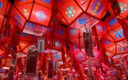 фонарики красные Стоковые Изображения