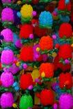 фонарики празднества выходят весну вышед на рынок на рынок nanjing Стоковое Изображение