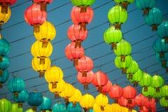 Фонарики традиционного китайския Стоковое фото RF