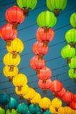 Фонарики традиционного китайския Стоковые Фото