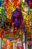 Фонарики Diwali индейца в Сингапуре Стоковые Фотографии RF