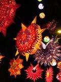 Фонарики Diwali рождества Стоковое Изображение RF