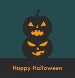 Фонарики o хеллоуина Джека Стоковые Фото