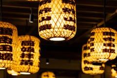Фонарик в китайском ресторане стоковые фотографии rf