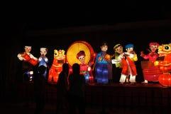 Фонарик в фестивале Средний-осени Стоковая Фотография RF