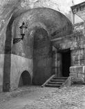фонарик двери Стоковые Фото