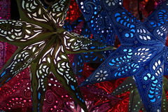 Фонарик звезды рождества Стоковая Фотография RF
