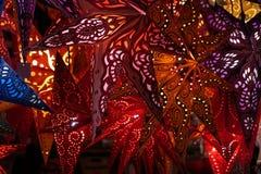Фонарик звезды рождества Стоковые Фотографии RF