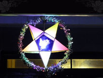 Фонарик звезды светя Стоковое фото RF