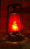 фонарик керосина старый Стоковая Фотография RF