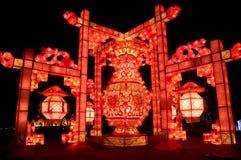 Фонарик Китаев традиционный Стоковое фото RF