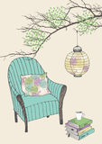 фонарик кресла Стоковые Фото