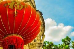 Фонарик на китайский Новый Год Стоковое фото RF