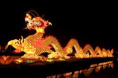 Фонарик дракона Китаев Стоковая Фотография RF