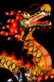 Фонарик дракона китайского стиля в фестивале фонарика Стоковые Изображения