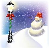 фонарик рождества Иллюстрация вектора