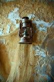 фонарик рыболова старый Стоковые Фотографии RF