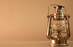 фонарик старый Стоковое фото RF