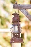 фонарик старый Стоковые Изображения
