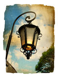 фонарик старый Стоковое Изображение