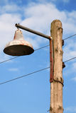 фонарик старый Стоковое Изображение RF
