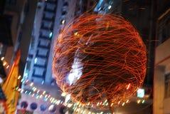 фонарик торжества осени средний Стоковое Фото