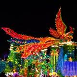 Фонарик Феникса в ¼ Œ Китае Zigongï Стоковые Изображения