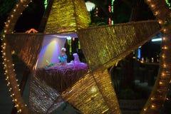 Фонарик Филиппины рождества стоковые фотографии rf
