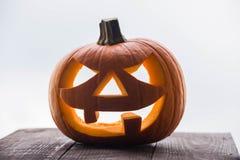 Фонарик хеллоуина Jack o Стоковое Изображение