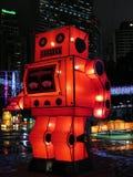 Фонарик Robort китайский - средний фестиваль осени стоковое фото