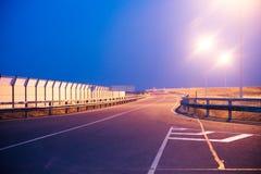 Фонарные столбы освещения дороги Стоковые Фото