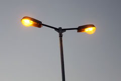 Фонарный столб улицы Стоковые Изображения RF