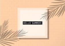 Фоновое изображение вектора тропического летнего отпуска тематическое иллюстрация штока