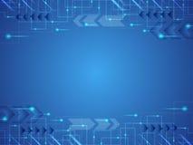 Фоновое изображение показывает что абстрактная концепция нововведения и технологии может быть прикладной к вашему делу Стоковые Изображения RF