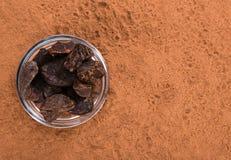 Фоновое изображение порошка гайки колы Стоковое фото RF
