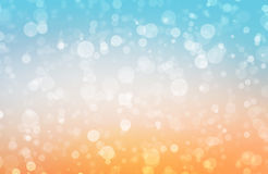 Фоновое изображение с голубыми светами bokeh Стоковые Изображения RF