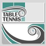 Фоновые изображения для текста на предмете настольного тенниса Стоковые Фото